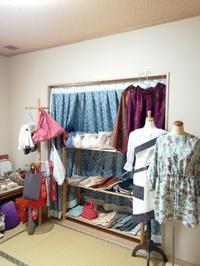 明日、自宅ショップ開催 - slow着物のブログ