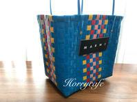 MARNIのピクニックバッグと、お気に入りのオリーブオイルでおうちごはん - 趣味とお出かけの日記