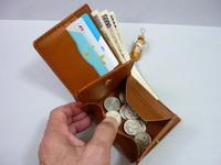 ボックス + 二つ折り = 合体  財布 第2作 - 革小物 paddy の作品
