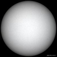 9月19日の太陽 - お手軽天体写真
