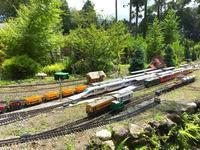 素敵なお庭で鉄道模型を楽しむ…箱根のガーデンレイルウェイ・カフェさん♪ - 子どもと暮らしと鉄道と