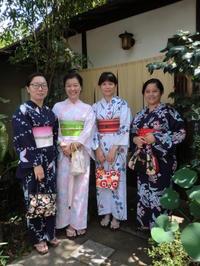 台湾から来られました皆様もお疲れ様。 - 京都嵐山 着物レンタル&着付け「遊月」