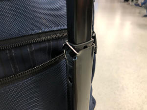 Just broken a handle of my carry-on luggage on the way to flight back to Japan - PATEK PHILIPPE Blog by Luxurydays.