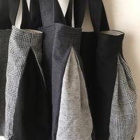 リネンバッグの横顔 - カタバミ