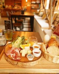 【軽井沢deスイスカフェ】 - ふくすけのコネコネ 編み編み てくてく日記