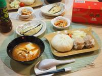 551の豚饅と焼売で☆晩ごはん - 365のうちそとごはん*:..。o○☆゚