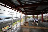 スラブコンクリート打設、屋根露出断熱防水工事 - TAPO Weblog