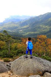 国師ヶ岳、奥北千丈岳登山 - TAPO Weblog