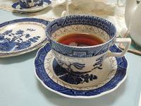 ブルー&ホワイトの器をご紹介 - BEETON's Teapotのお茶会