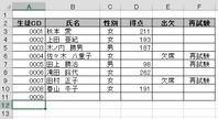 Excelワザ_追加データに罫線追加 - 京都ビジネス学院 舞鶴校