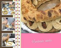 はんどめいどスウィーツ~『フランス伝統菓子パリブレスト』~ - 島原の料理教室~クッキングクラブ島原~