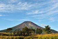 秋晴れの富士 - 風とこだま