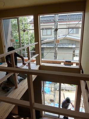 現場の様子(中島の家2) その四 - 大恭建興の家づくりブログ
