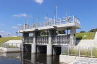 立川市根川の樋門が完成していました - 俺の居場所2