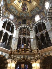 アーヘンAachen大聖堂パラティン礼拝堂内部/ドイツ - Nederlanden地位向上委員会