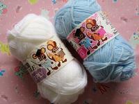 可愛い昔の毛糸の紙帯 -  Der Liebling ~蚤の市フリークの雑貨手帖2冊目~
