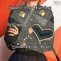 早速のStudded Code Heart レッスン💙✨✨ - 神戸北区西鈴蘭台グルーデコサロン(JGA認定校)★Jewel  Leaf★
