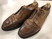 【Crockett&Jones】MORETONを磨く - 池袋西武5F靴磨き・シューリペア工房