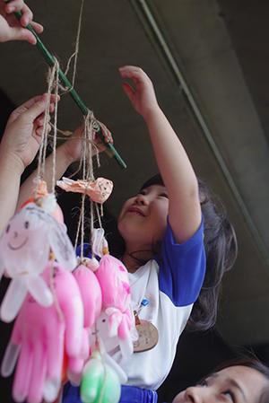 準備。ー終ー - 陽だまりの小窓 - 菊の花幼稚園保育のようす