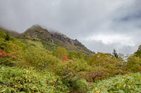 初秋の北アルプスふたり歩き焼岳 - 荒野にて