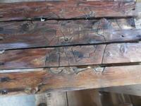 舟板を使って - 手作り家具工房の記録