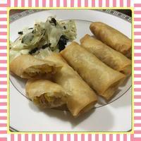 ツナとコーンの春巻き - kajuの■今日のお料理・簡単レシピ■