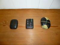 陶の蓋物達 - サンカクバシ 土と私の日記