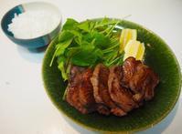 厚切りタン定食 - sobu 2
