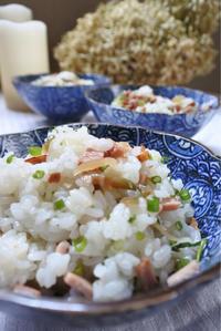 ザーサイと焼き豚のスピード混ぜご飯 - ヒトリゴトゴハン