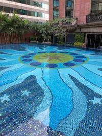 台北旅⑭マンダリンオリエンタル台北クラブルーム泊~その4美しきプールで - 小さなバラの庭と手作りせっけんのなちゅらるらいふ