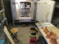 窯焚き準備おっけー - 週末陶芸家 フジサキウサジ