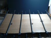 テーブル製作の続き - woodworks 季の木  日々を愉しむ無垢の家具と小物