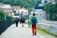 旅フォト:サンティアゴ・デ・コンポステーラ到着/サンティアゴ巡礼フランス人の道15 - 映画を旅のいいわけに。