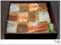 【京都でいただくごはんとオヤツ】【いづ重】の上箱は持帰りで。【月ヶ瀬】のあんみつ、大好き!ニョ。 - ツルカメ DAYS
