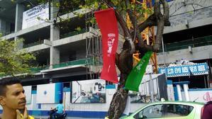 大統領選挙前日の首都マレ本日の様子 -