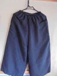 男物の羽織からワイドパンツ - handmadeつづれおり