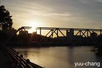 2018.8.18 月見橋の夕暮れ - 下手糞PHOTO BLOG