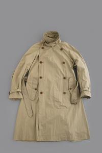 HAVERSACK N/P High Density Weather Cross Trench Coat (Beige) - un.regard.moderne