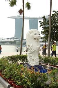 過去の海外旅行シンガポールマーライオンの台座 - ゆらりっぷ -yurari's trip-