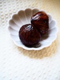 栗の渋皮煮 - Kitchen diary