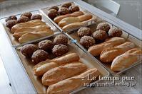 """フランスパン入門 :扱いやすい『ソフトフランス』から是非スタートしてみてくださいね♪ - 大阪 堺市 堺東 パン教室 """" 大人女性のためのワンランク上の本格パン作り """"  - ル・タン・ピュール -"""