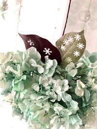 ナチュラルリース! - **おやつのお花*   きれい 可愛い いとおしいをデザインしましょう♪