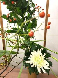 今週のいけはな - **おやつのお花*   きれい 可愛い いとおしいをデザインしましょう♪
