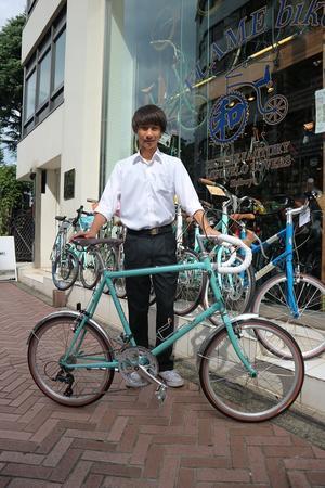 9月22日 渋谷 原宿 の自転車屋 FLAME bike前です - かずりんブログ