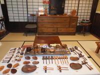 木工と布・二人展~6 - アオモジノキモチ
