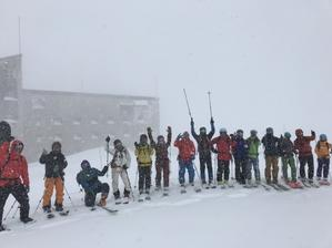 VECTOR GLIDE 立山BC CAMP(告知) - じゅんりなブログ