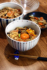 野菜多すぎ親子丼と節約炒め - KICHI,KITCHEN 2