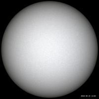 9月22日の太陽久しぶりの晴れ - お手軽天体写真