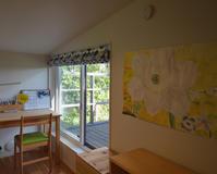 自然の中の小屋裏感のある子供部屋 - kukka  kukka