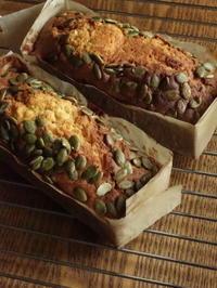 和栗のモンブラン&南瓜のパウンド - Baking Daily@TM5